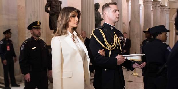 Melania Trump impassible face aux rumeurs d'infidélité de Donald - La DH