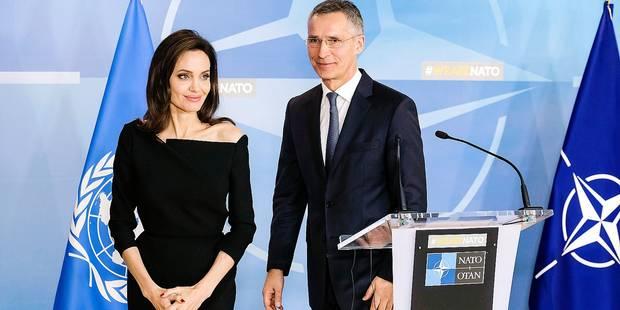 Angelina Jolie était de passage à Bruxelles hier ! - La DH