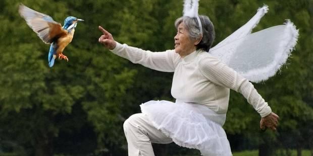 Une mamie japonaise amuse la toile avec des selfies déjantés - La DH