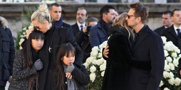 """David Hallyday n'a """"jamais souhaité"""" participer à l'album posthume de son père - La DH"""