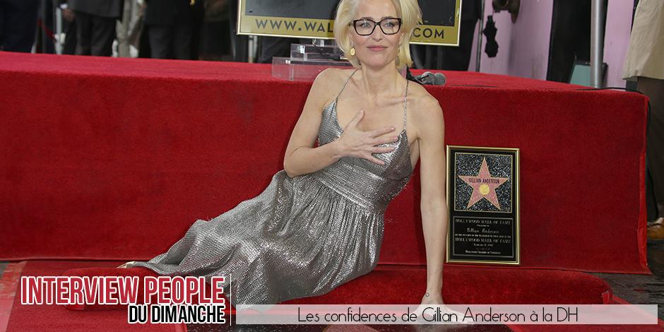 """Gillian Anderson quitte X-Files: """"J'ai été approchée par des gens qui voulaient me confier des lettres à remettre à des ..."""
