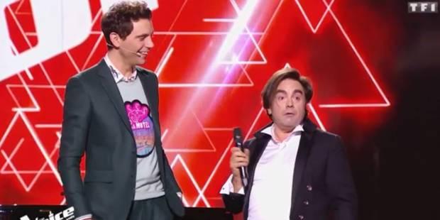 The Voice France: il surprend tout le monde (et se qualifie) avec cette improbable reprise (VIDEO) - La DH
