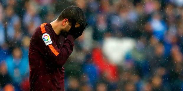 Liga: Piqué maintient le Barça à flot dans le derby (1-1) - La DH