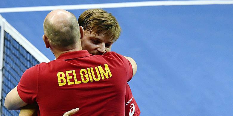 Coupe Davis : La Belgique conserve sa 3e place au classement mondial