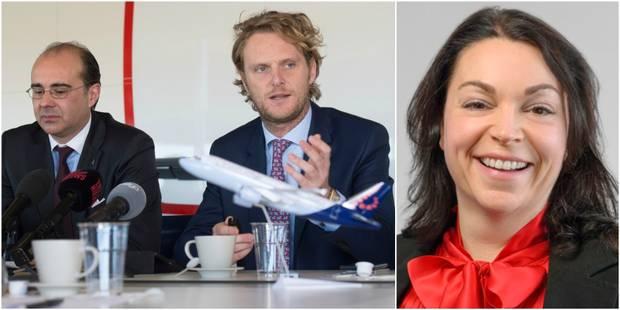 Le CEO Bernard Gustin et le directeur financier de Brussels Airlines licenciés, Christina Foerster à la tête de l'entrep...