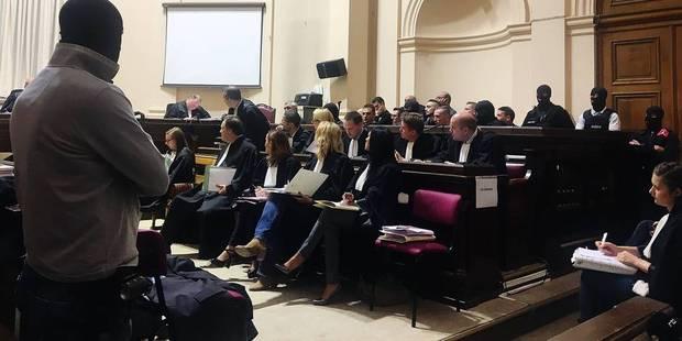 Mons: Sécurité maximale aux Cours de Justice pour le procès des motards - La DH
