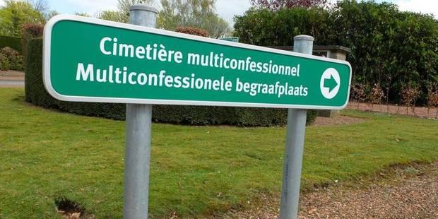 Schaerbeek: La grille du cimetière de Schaerbeek en partie retirée - La DH