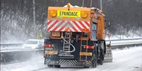 Accidents sur routes enneigées: la province de Luxembourg la plus touchée - La DH