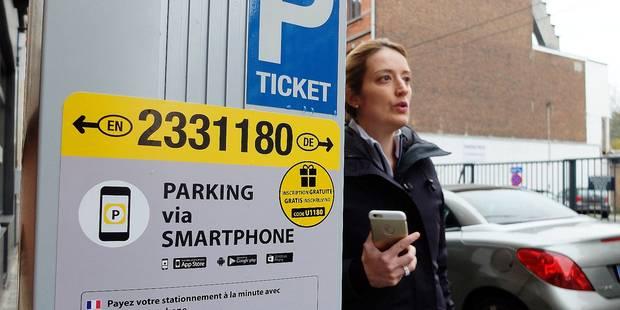 Stationnement : Le règlement par smartphone se généralise - La DH