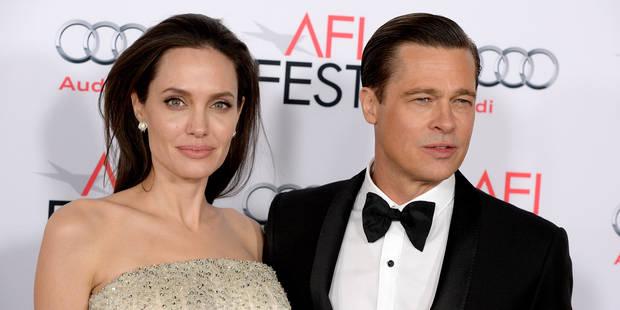 Angelina Jolie et Brad Pitt, officiellement divorcés en février ? - La DH