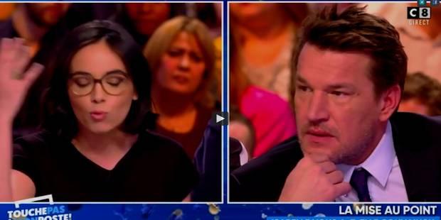 Grosses tensions entre Agathe Auproux et Benjamin Castaldi dans TPMP ! (VIDEOS) - La DH