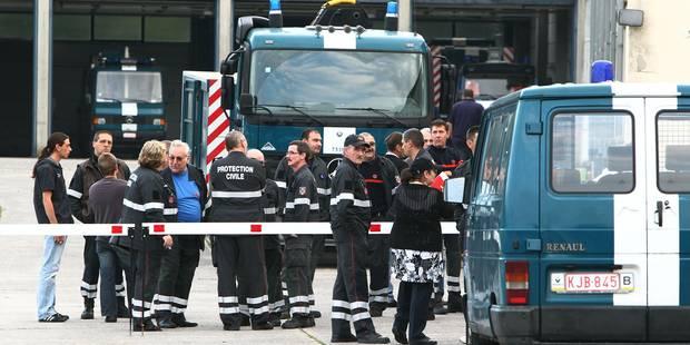 Grève surprise à la caserne de la protection civile à Ghlin - La DH