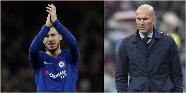 """Eden Hazard et Zidane réunis? """"En football, on ne sait jamais"""" - La DH"""