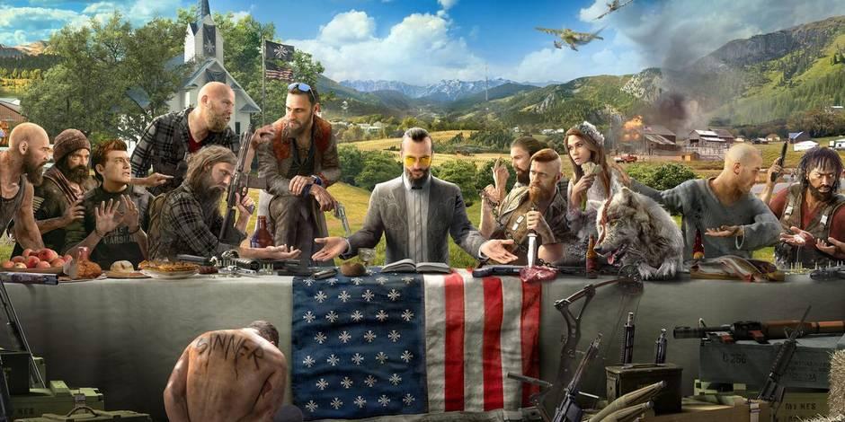 Far Cry 5 dévoile ses mercenaires