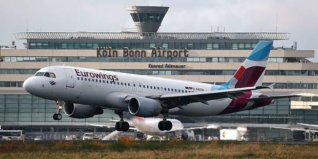 Wi-fi à bord sur Eurowings - La DH