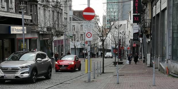 Charleroi : prenez garde si vous stationnez à la rue de la Montagne - La DH