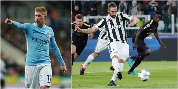 Champions League : Manchester City étrille Bâle (0-4), Tottenham remonte deux buts à la Juventus (2-2) (VIDEOS) - La DH
