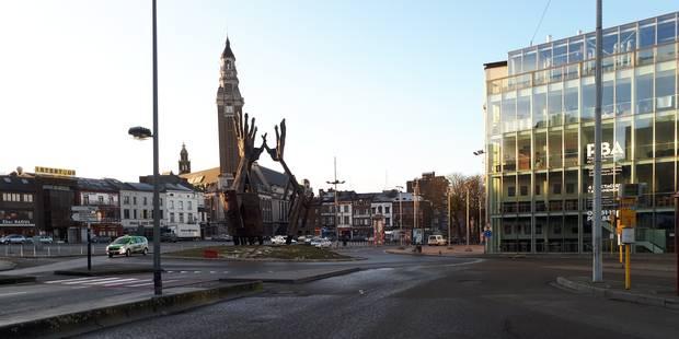 Charleroi: 80.000 tonnes de déblais à dépolluer à la Ville Haute - La DH