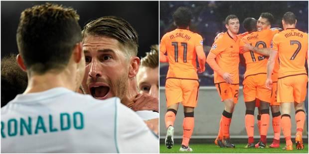 C1: le Real renverse le PSG avec un Ronaldo record (3-1), Liverpool atomise Porto et entrevoit les quarts de finale (0-5...
