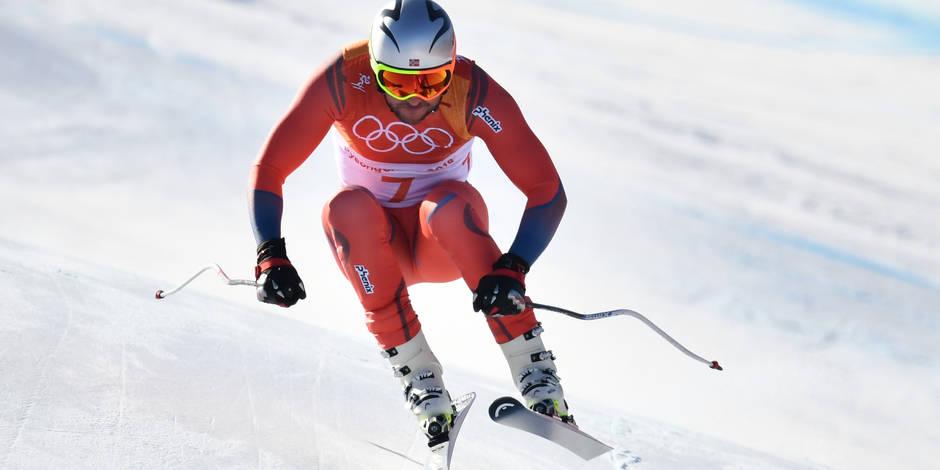 JO-2018 - Aksel Lund Svindal, 1er Norvégien champion olympique de descente