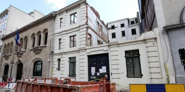 Bruxelles-Ville: le chantier du 63 rue Ducale toujours au point mort - La DH