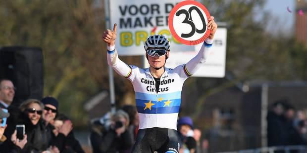 Mathieu van der Poel décroche sa 30e victoire à Hulst - La DH