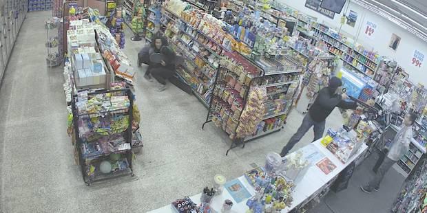 Un braqueur est arrêté par des... voleurs (VIDEO) - La DH