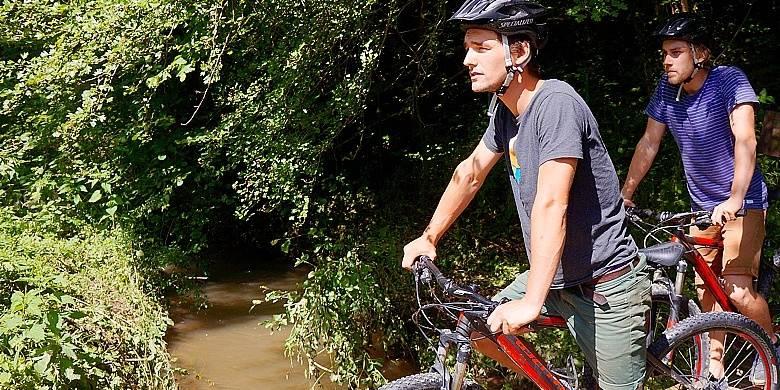 Labyrinthe 3D et Bike Park à Durbuy