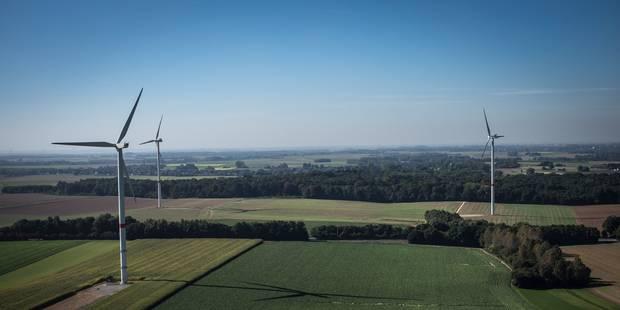 Demande de permis introduite pour trois éoliennes à Courcelles - La DH