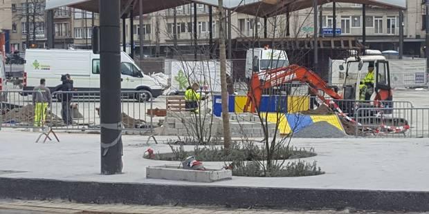 Woluwe-Saint-Pierre: La place Dumon à nouveau rouverte - La DH