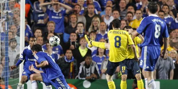 Champions League: le cambrioleur Iniesta revient sur le lieu du casse à Chelsea - La DH