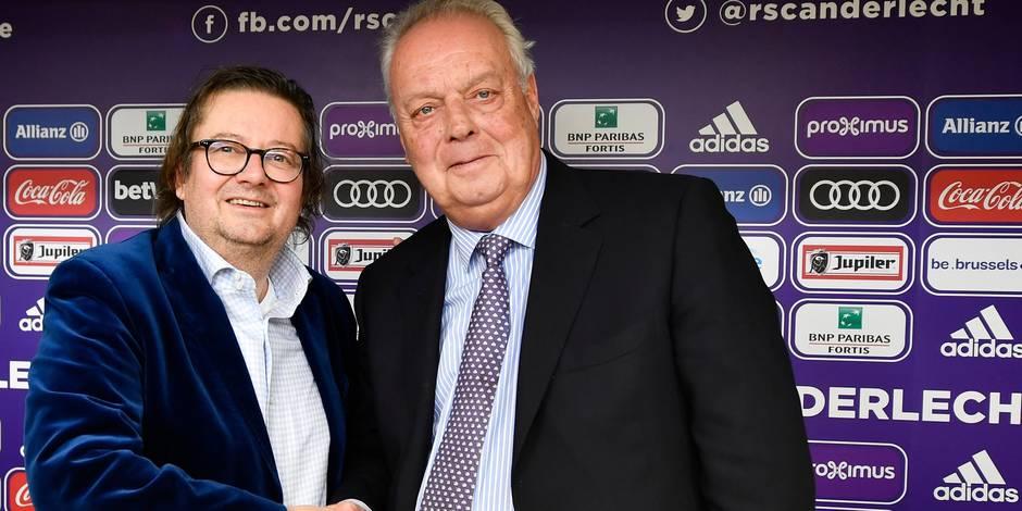 Roger Vanden Stock n'est plus le président de la Pro League