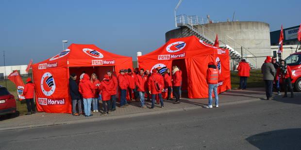 Ghislenghien: Un piquet de grève en guise de soutien chez Vandemoortele - La DH