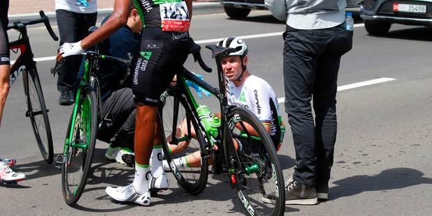 Tour d'Abou Dhabi: Pas de blessures sérieuses pour Mark Cavendish, contraint à l'abandon avant le départ - La DH