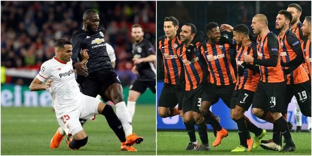 C1: Manchester United et Séville se quittent dos à dos (0-0), le Shakhtar fait tomber la Roma (2-1) - La DH