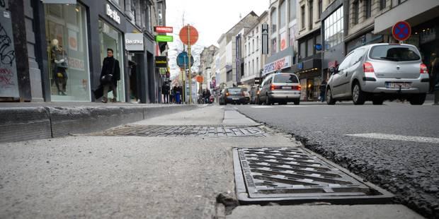 Le nord d'Ixelles asphyxié par les travaux de la chaussée d'Ixelles - La DH