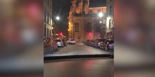 Saint-Josse: un policier brûle cinq feux rouges ! (VIDEO) - La DH