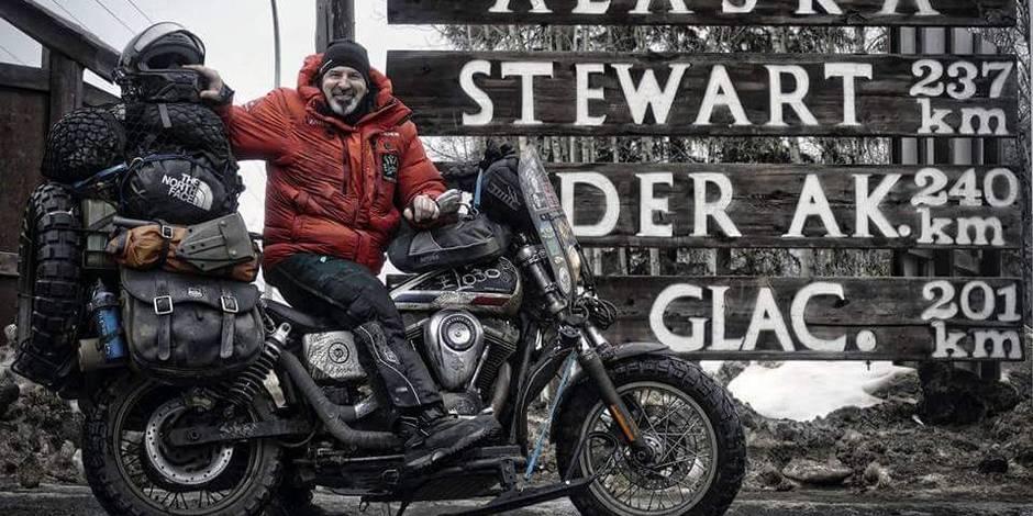 Le biker de l'extrême débarque à Mons