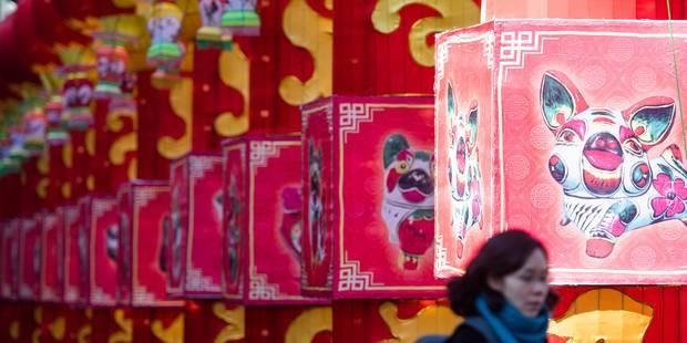 Bruxelles à l'heure du Nouvel an chinois (VIDEO) - La DH