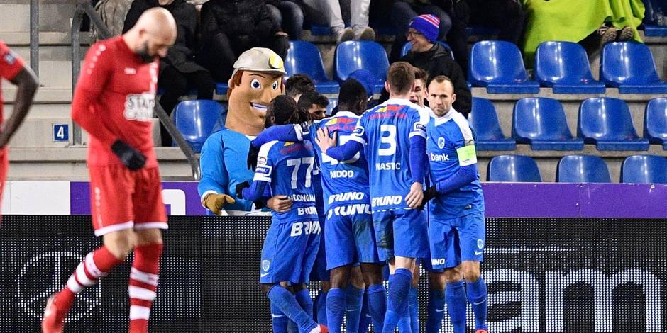 Le Racing Genk étrille l'Antwerp (4-0) et s'installe confortablement dans le Top 6