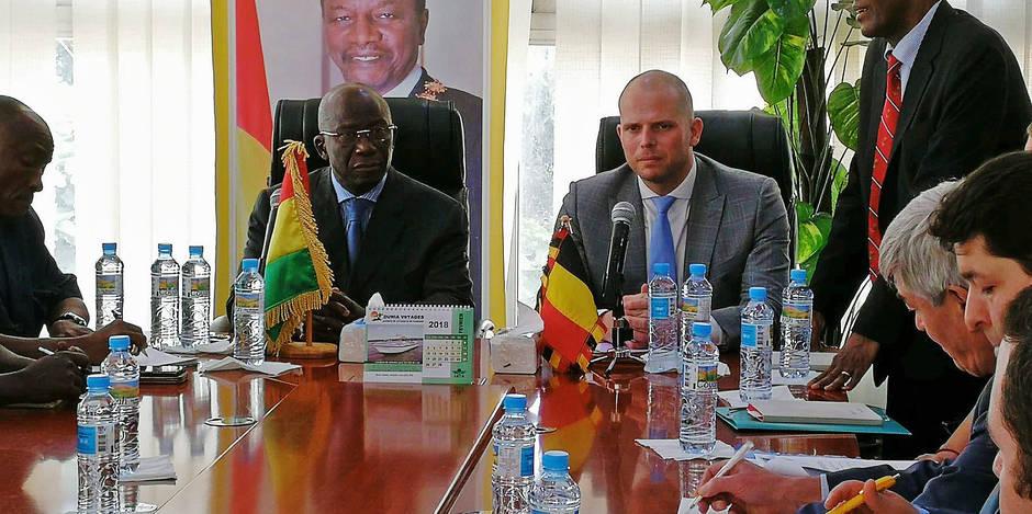 Comment Theo Francken décourage les Guinéens de venir en Belgique - La DH
