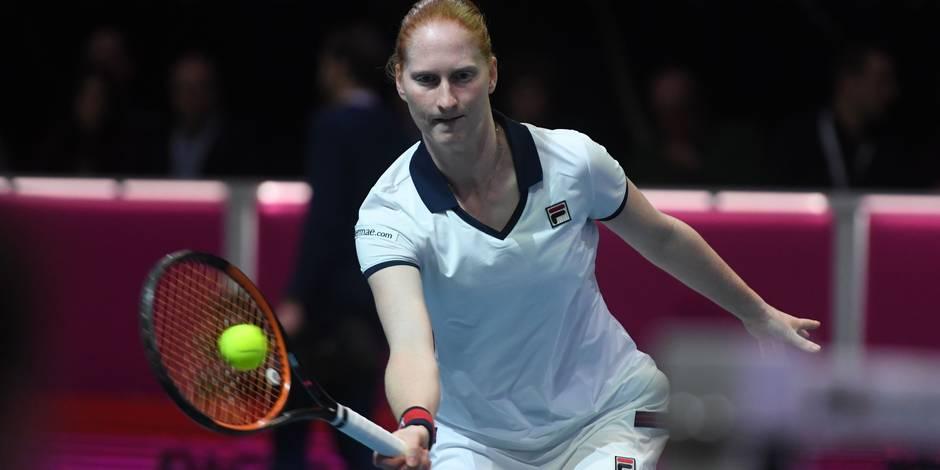 Alison Van Uytvanck remporte le tournoi de Budapest