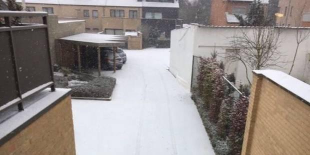 Météo : de la neige industrielle est tombée en Belgique - La DH