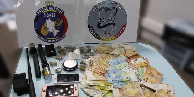 Un important trafic de stupéfiants démantelé dans le Borinage - La DH