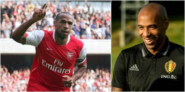 Thierry Henry, l'actuel T3 des Diables Rouges, rêve d'entraîner Arsenal - La DH