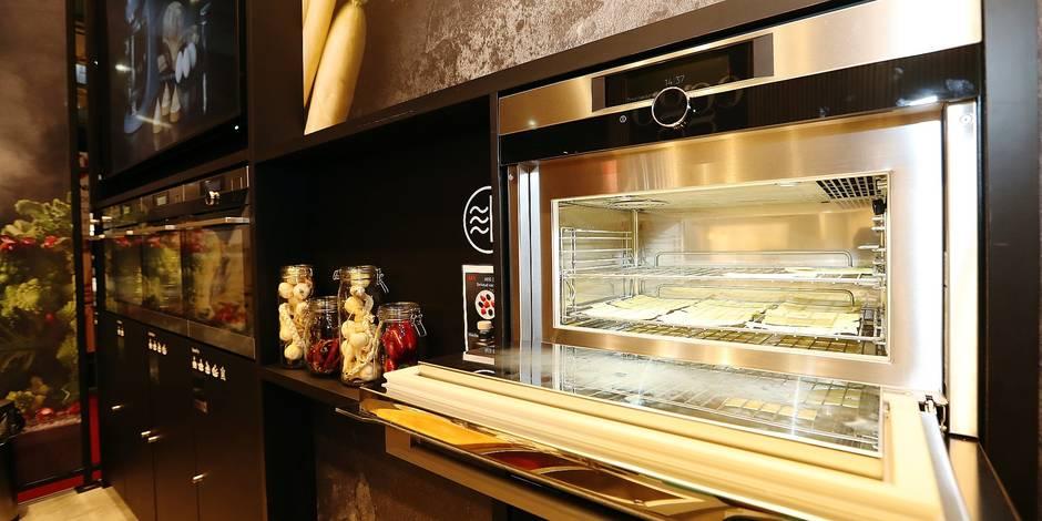 Salon Batibouw: en cuisine, on peut voir la vie en noir - La DH