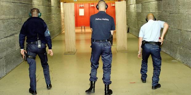 Bruxelles: un nouveau centre de tir pour tous les policiers - La DH