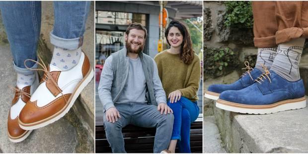 Rivka : L'histoire derrière les chaussures intemporelles et urbaines d'un jeune couple bruxellois - La DH
