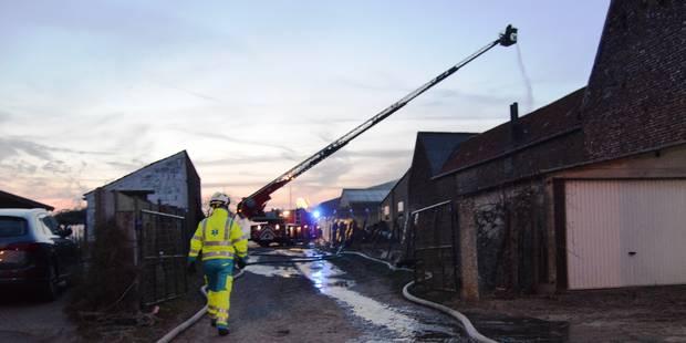 Incendie dans un hangar agricole à Wez-Velvain - La DH