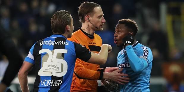 Le Club Bruges échappe aux sanctions pour les cris racistes à l'encontre de Mpoku et N'Ganga - La DH